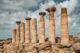 Temple d'Héraclès vallée des temples sicile