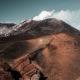 cratère du volcan etna